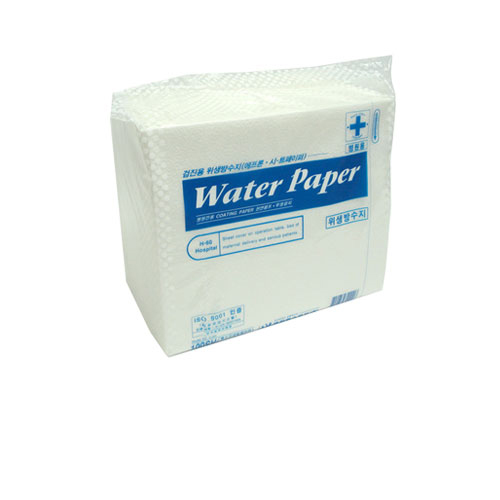Water paper (Apron)/흰색 (360x450)